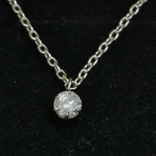 天然ダイヤモンドネックレス