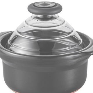 ハリオ  フタがガラスのご飯鍋 3合用