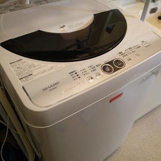 シャープ 4.5キロ 洗濯機