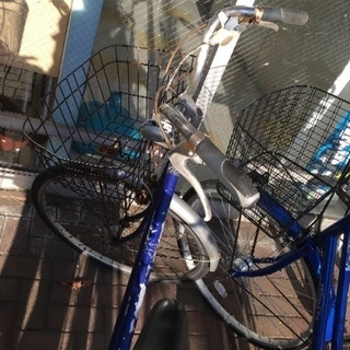 塗装ハゲ自転車ジャンク