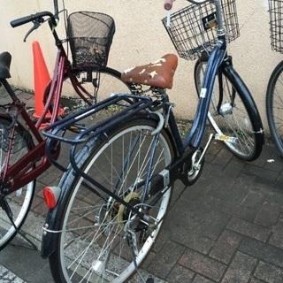 イス破れあり 自転車