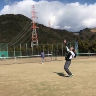 テニス  硬式  仲間大募集中  男女 問わず 初中級者〜…
