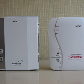 NEC 無線Wi-Fi 2台