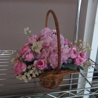 【造花】花籠