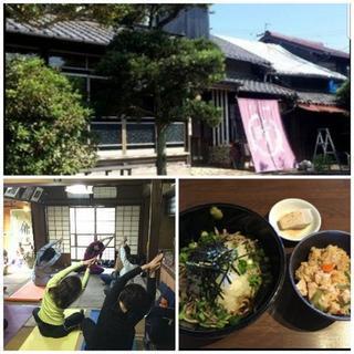 桑名の古民家~そばカフェ心晴~でヨガ★