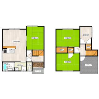 諏訪ノ森駅徒歩3分の室内新築物件のような一軒家賃貸 【ペット可】