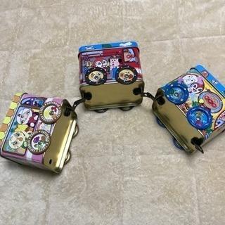 アンパンマン ぶりきの電車おもちゃ箱