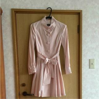 新品 レストローズ スプリングコート M ピンク