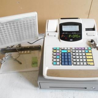 TEC レジスター キーボード付き MA-660 不良品  【リ...