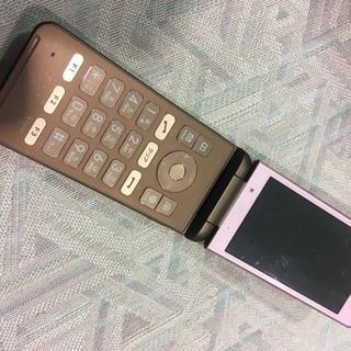 シムフリー GRATINA 4G ピンク KYF31 中古美品 ...