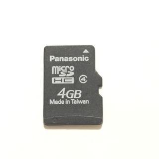 Panasonic micro SDHC 4GB