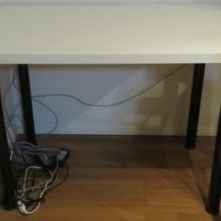 【お取引中】IKEA テーブルシステム(白×黒) (3/11-13...
