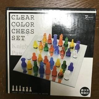 クリアカラーチェスセット