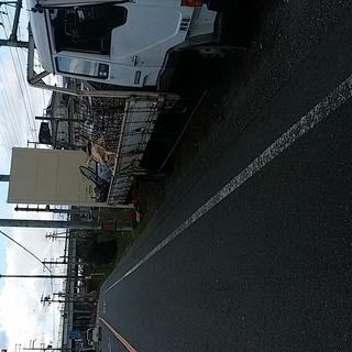 阪和線長滝駅から大阪方面に150メートル行った幹線道路沿いの土地