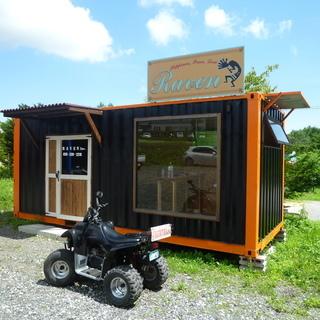 コンテナハウス。貸倉庫、レンタルスペース、ガレージ、販売も可。