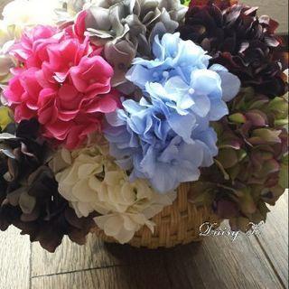6月◆アレンジメントレッスン◆紫陽花のアレンジメント(3席) - フラワー