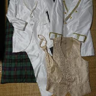 結婚式 新郎 タキシード(ジャケット2着セット) ブライダル プリンス