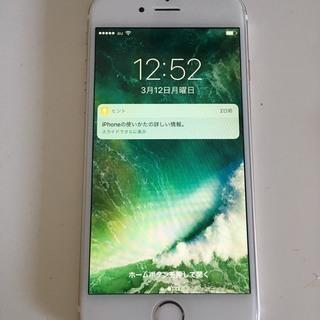 【中古良品】iphone6 128GB AU ゴールド