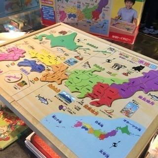 学研 木製シリーズ 日本地図 6歳から