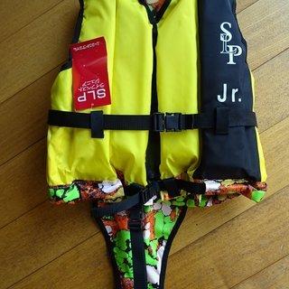 ♪ライフベスト シ-ランドプライム㈱ SLP-JR 未使用品  ゆ...