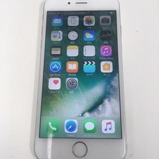 【中古傷あり】iphone6S 16GB AU ホワイト
