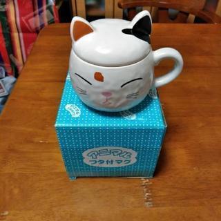 三毛猫のコーヒーカップ