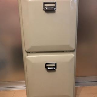 ダルトン☆分別ゴミ箱☆トラッシュカン☆ダブルデッカー