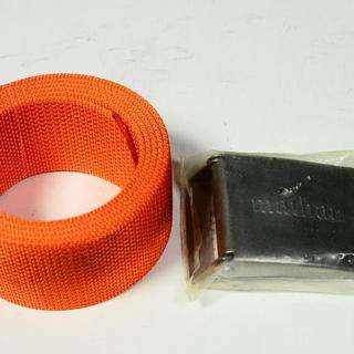 ダイビング器材(新品未使用品 ウエイトベルトバックルセット…