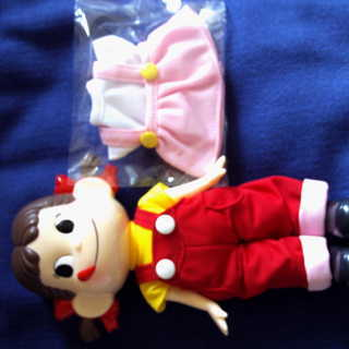 ペコちゃん着せかえ人形《新品》