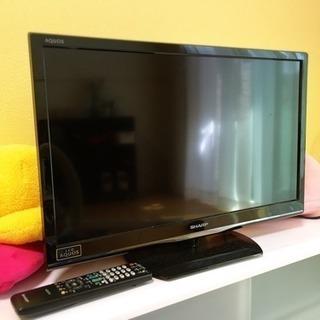 【SHARPテレビ】24V型AQUOS