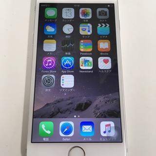 【中古若干傷あり】iphone6 16GB AU ホワイト