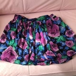 【INGNI】花柄スカート