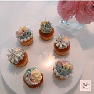 【再募集】市販のミニカップケーキのデコレーションのご案内♡