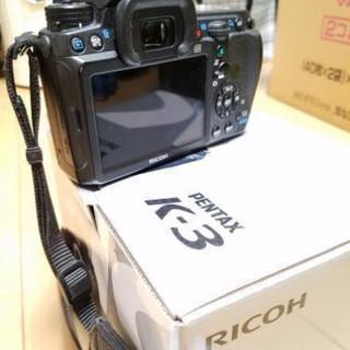 ペンタックス PENTAX デジタル一眼レフカメラ K-3ボディ 箱付 デジカメ 完品 - 大阪市