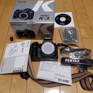 ペンタックス PENTAX デジタル一眼レフカメラ K-3ボディ 箱付 デジカメ 完品の画像
