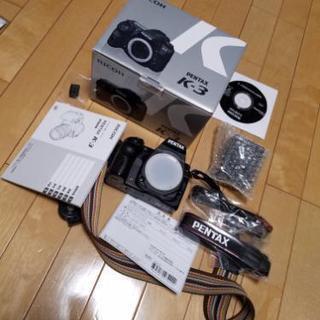 ペンタックス PENTAX デジタル一眼レフカメラ K-3ボディ 箱付 デジカメ 完品 − 大阪府