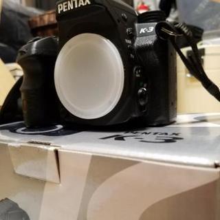 ペンタックス PENTAX デジタル一眼レフカメラ K-3ボディ 箱付 デジカメ 完品 - 家電