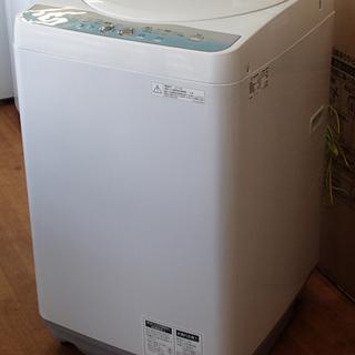 ♪SHARP/シャープ 洗濯機 ES-GE55L 5.5kg AG...