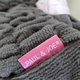 PAUL&JOE  ポールジョーヘアバンド 未使用 グレー×ピン...