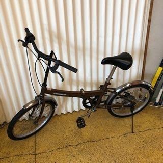 折りたたみ自転車20インチ 6速 現状仕上げ