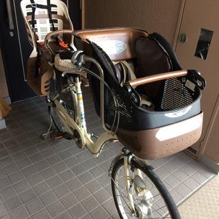 【中古】Petit Maman 自転車 前後チャイルドシート付き