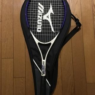 テニスラケット ミズノ 使用回数少なめ!