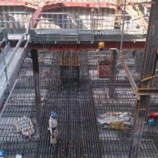 コンクリート造の骨組みとなる鉄筋工事業の鉄筋工募集