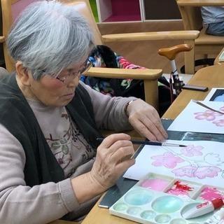 日本初芸術系デイサービス。新しい介護の形です