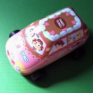 ペコちゃんポコちゃんのブリキの車