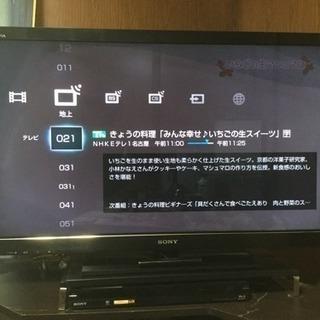 SONY BRAVIA 液晶テレビ ブルーレイレコーダーセット