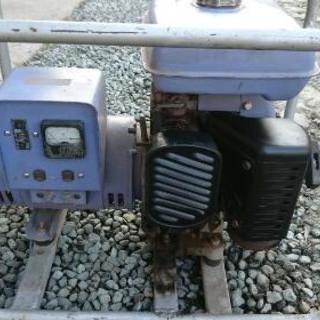 デンヨーパワー 発電機  実働 1500W 15A