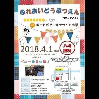 ポートピア・サテライト市原 ふれあい動物園  開催!