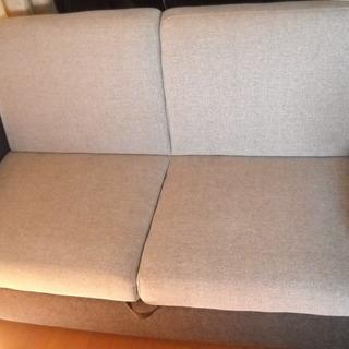 美品 収納式ソファーベッド