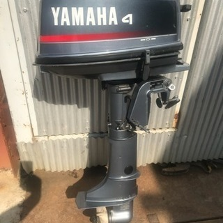 YAMAHA ヤマハ 6EO-S 小型船舶用船外機 美品